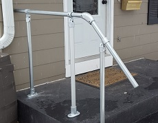 kee klamp handrail fittings
