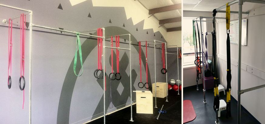 wall mounted pull-up bars crossfit