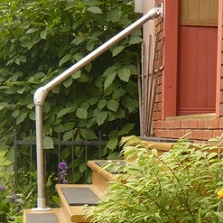 simple outdoor handrail kits