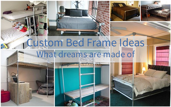 Custom Bed Frame Ideas - What Dreams are made of - Simplified Building