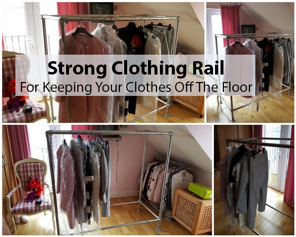strong clothing rail
