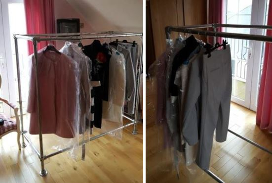 strong and durable clothing rack