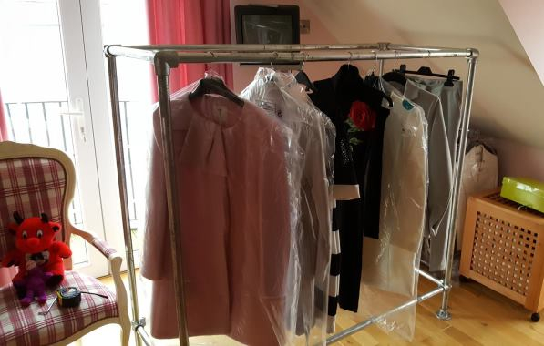 strong clothing rail 4
