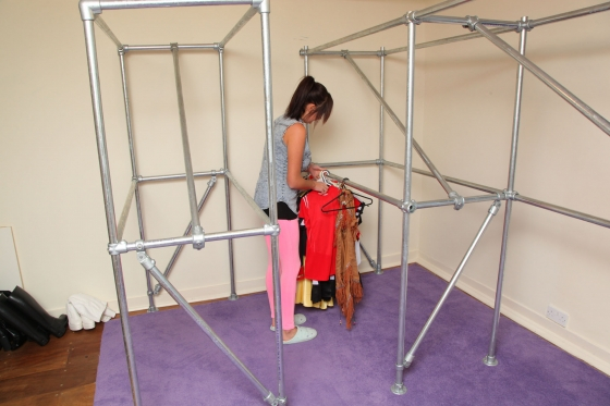 strong clothes rack