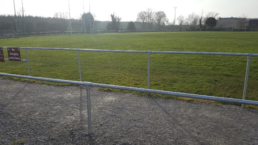 Safety Rail For Sports Grounds