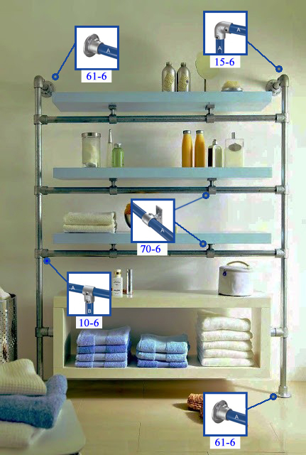Fittings Shelf