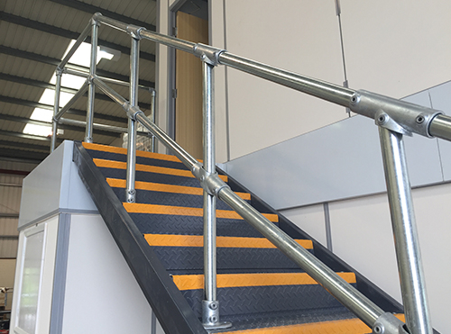 handrail fittings for steps