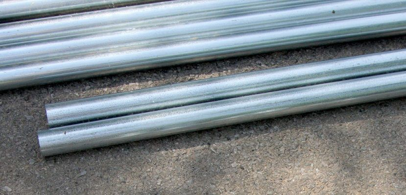 Aluminium and steel tube