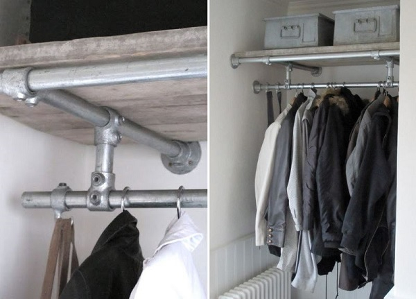 DIY Clothing Rail for Walk-In Wardrobes - Simplified Building