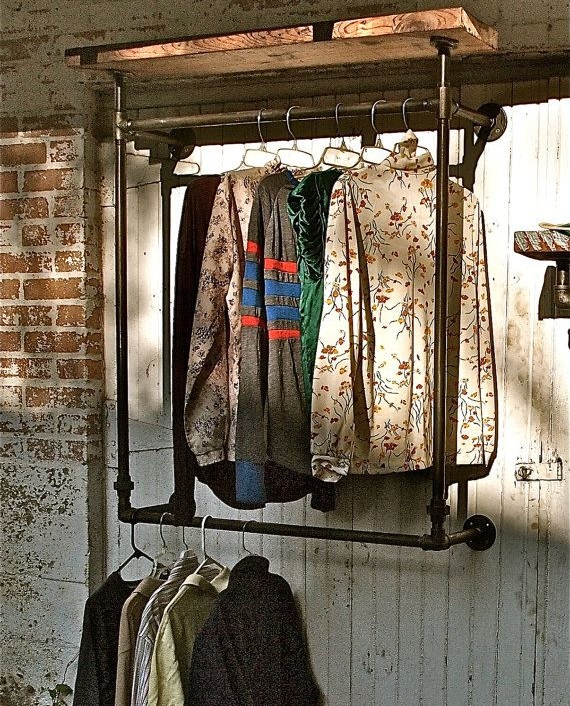 Walk In Wardrobes The Perfect Clothes Solution: DIY Clothing Rail For Walk-In Wardrobes